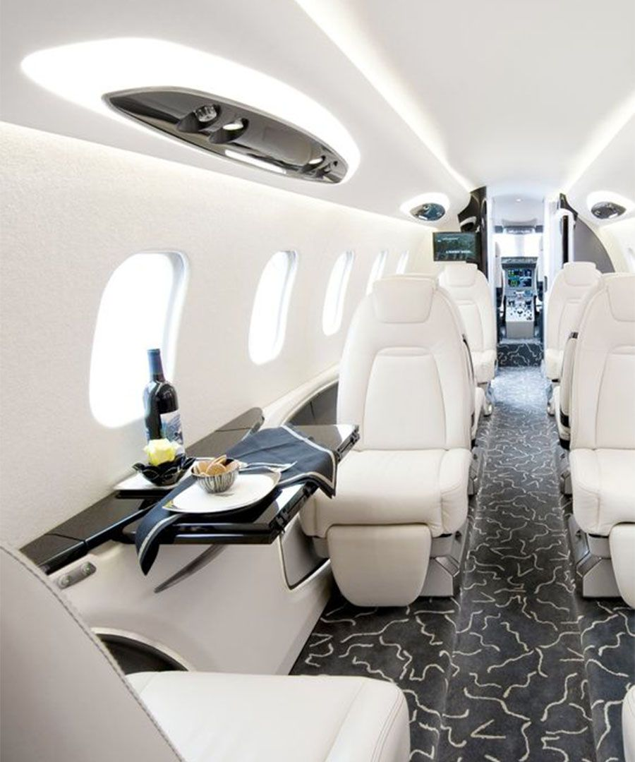 Pinterest Private Jet Interiors Dujour Private Jet Interior Luxury Private Jets Luxury Jets