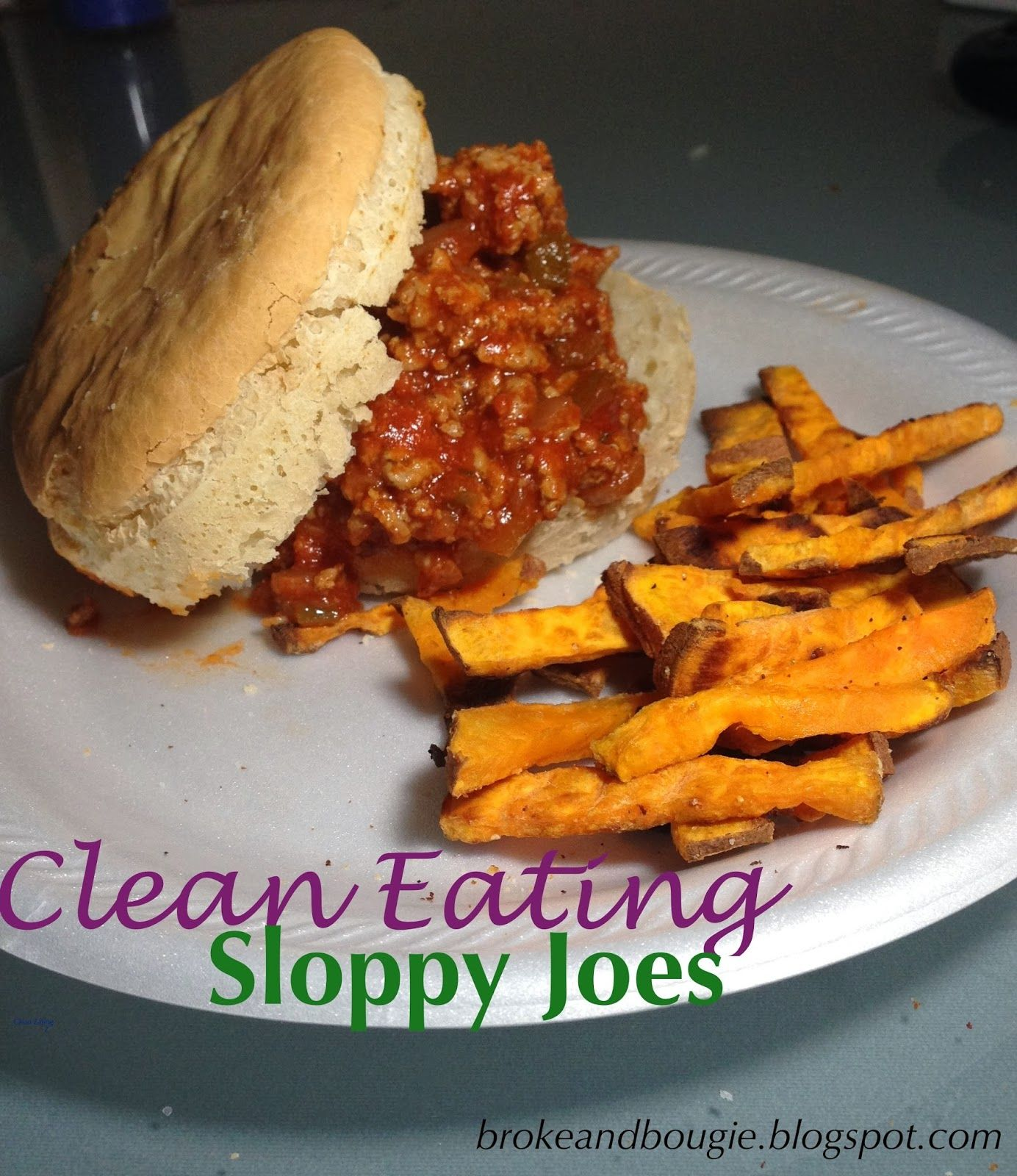Clean Eating SLOPPY JOES! But for Joel to eat it it'd have to be lean ground beef, not ground turkey!
