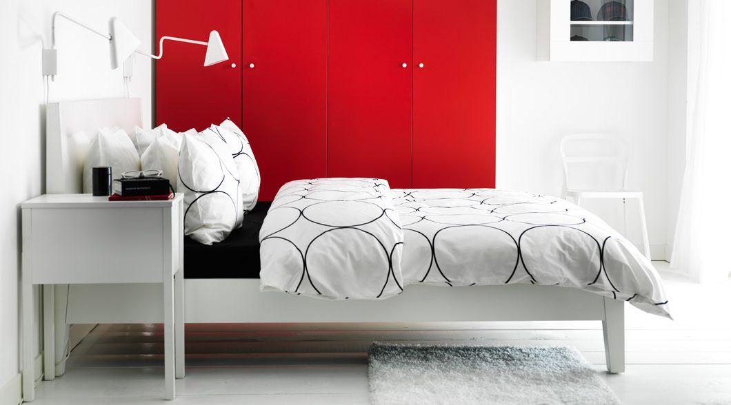 Beds Bed Frames Bedroom Furniture Ikea Leather Bed
