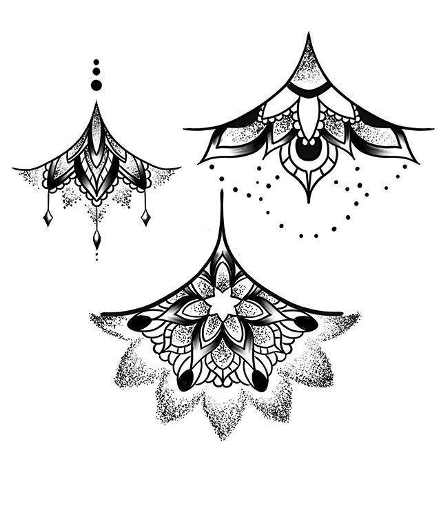 Underbreast Tattoo Lace - Nicheh