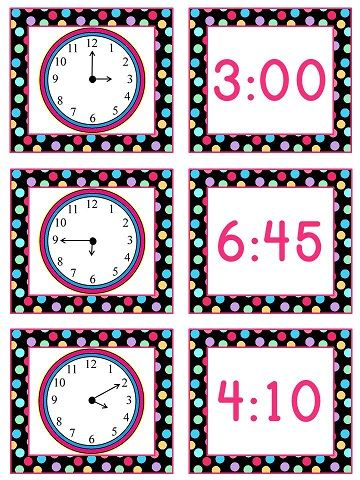 Telling Time to 5 Minutes Math Stations | Math stations ...