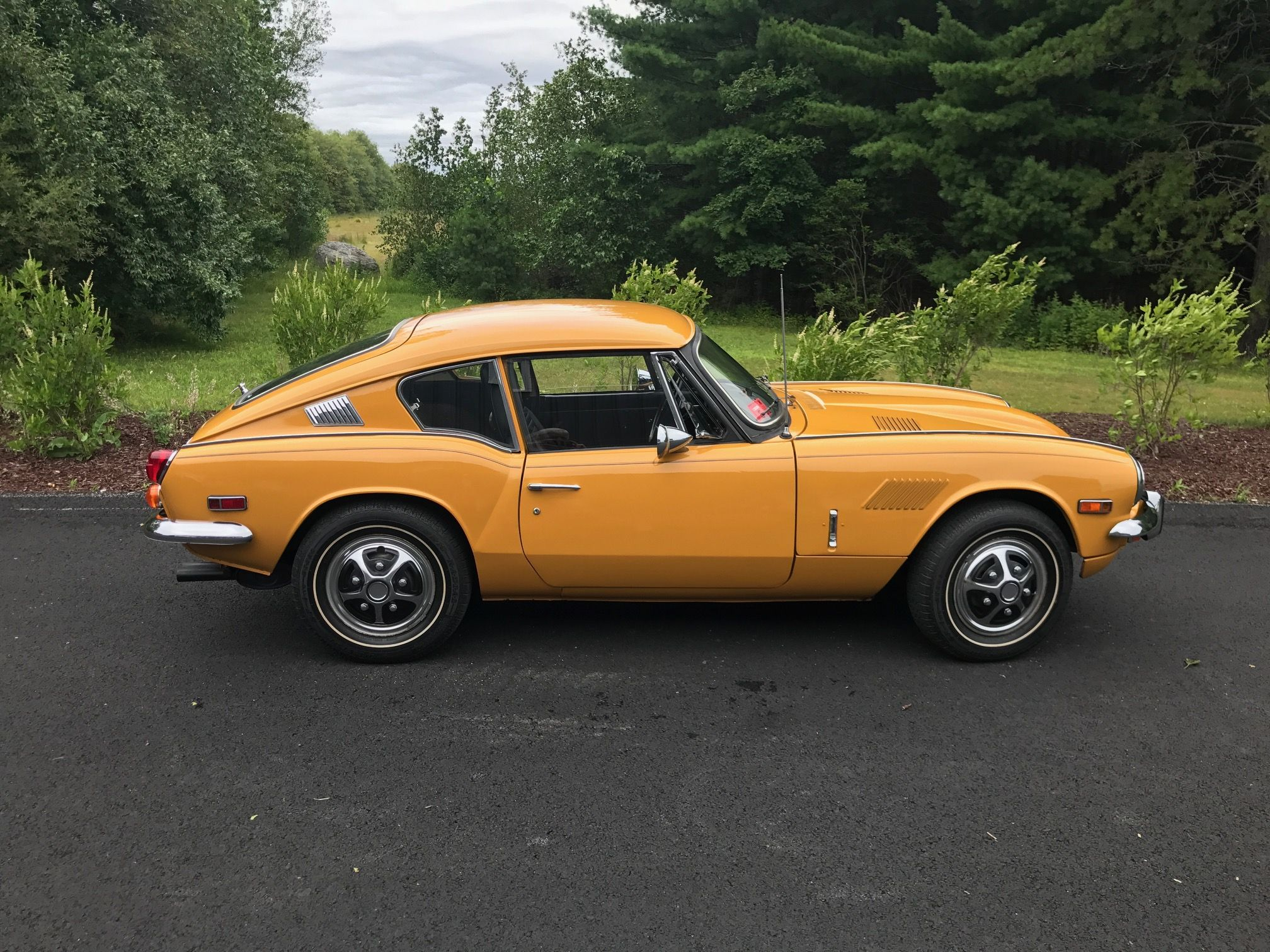 1970 triumph gt6 tom drove one when we were dating used to race it