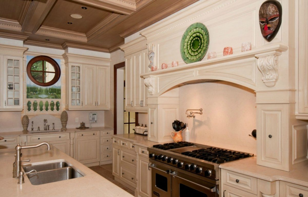 Window for kitchen  house of the day this wacky long island mansion thinks itus nestled