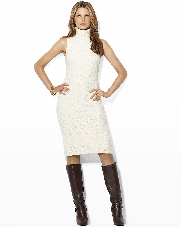 Ralph Lauren Noryne Sleeveless Turtleneck Dress Women Dresses Bloomingdale S Turtle Neck Dress Turtleneck Dress Sleeveless White Turtleneck Dress [ 1500 x 1200 Pixel ]