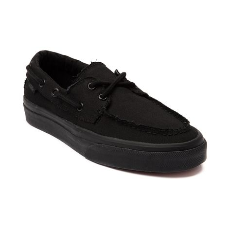 553783d692e8 Shop for Vans Zapato Del Barco Skate Shoe in Black Mono at Journeys Shoes.  Shop
