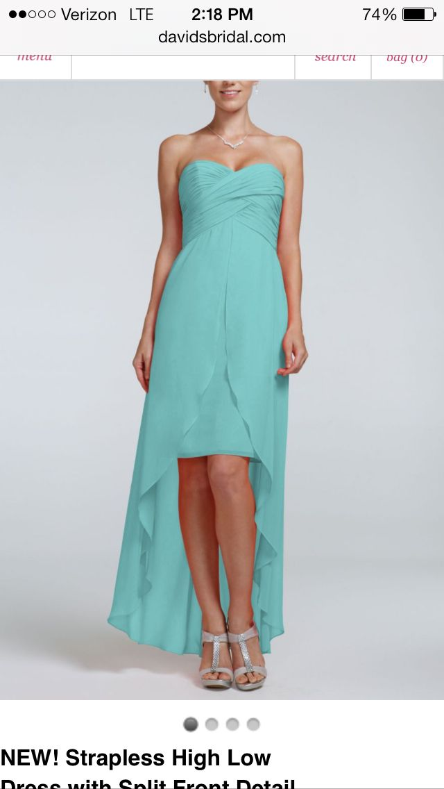 Spa color wedding party dresses for women