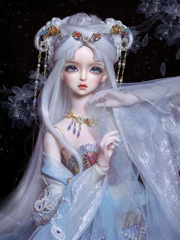 as agencytime limited bjd snow girl 58cm balljointed
