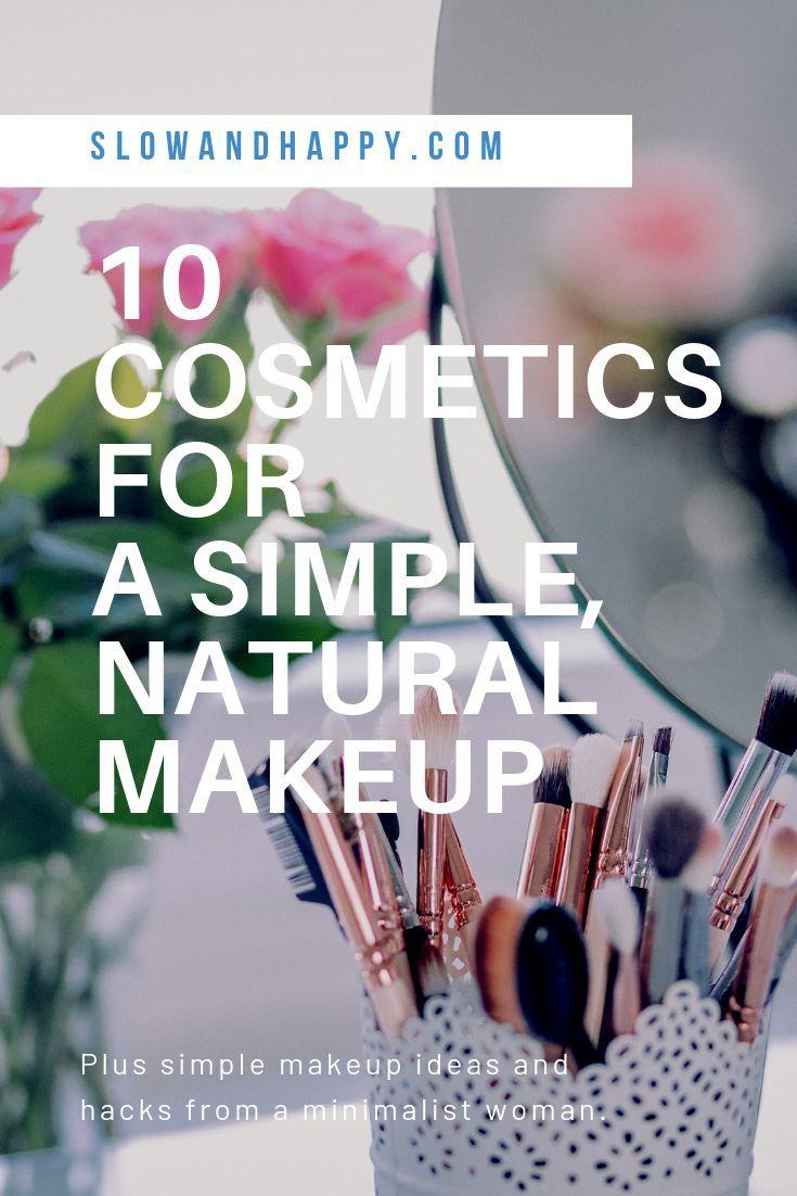 10 natürliche MakeupProdukte + einfache MakeupTricks