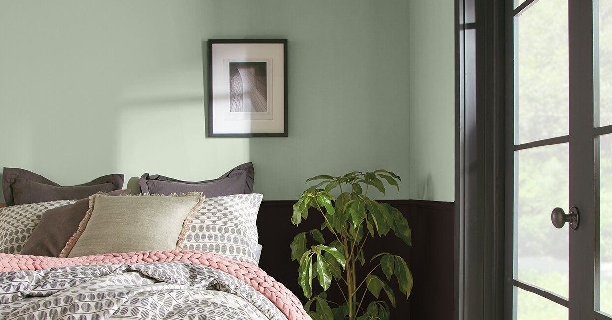 behrs 2021 color palette has all the tranquil shades you on interior wall paint colors 2021 id=24412