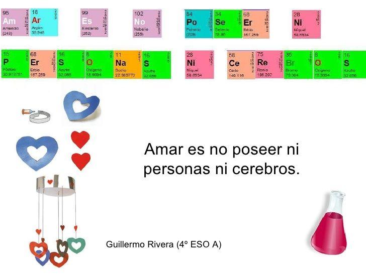 Resultado de imagen de frases tabla periodica Frases tabla - best of tabla periodica de los elementos mas importantes