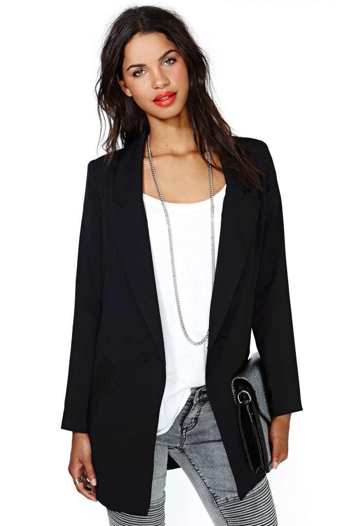 df137ad4c99 Who needs a boyfriend when you have this amazing blazer  Crisp ...