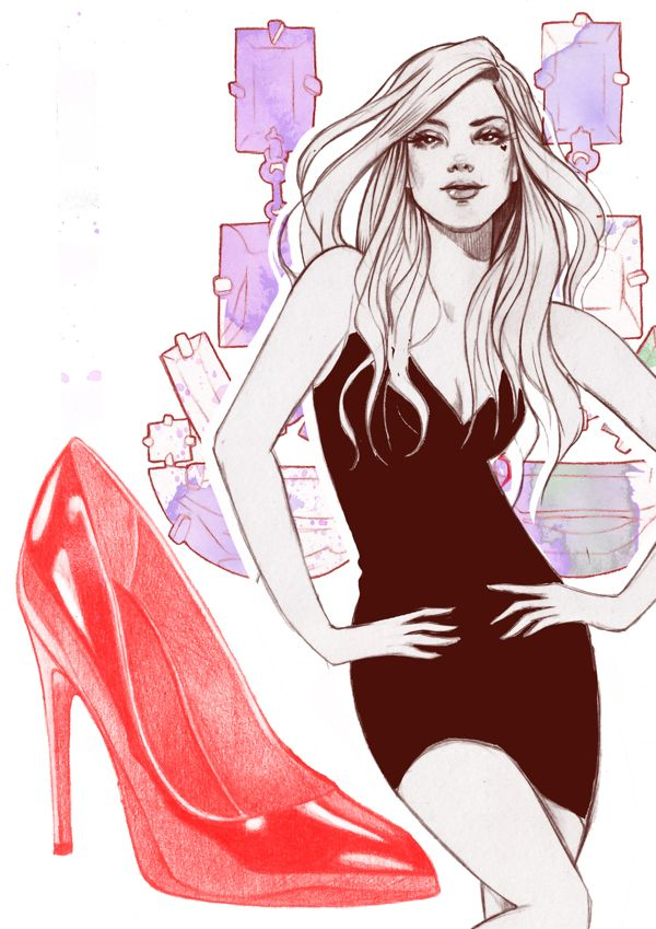Miss Led Fashion & Beauty by Miss Led, via Behance