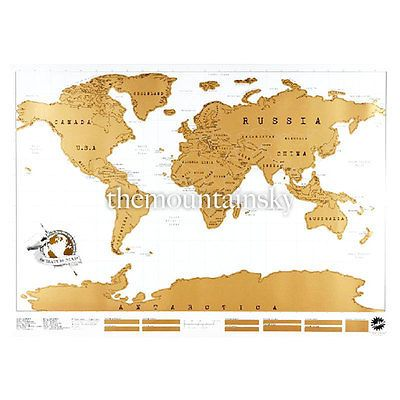 Travelers helper edition vacation personalized log scratch off travel edition cool vacation personalized log gift scratch off world map poster ebay gumiabroncs