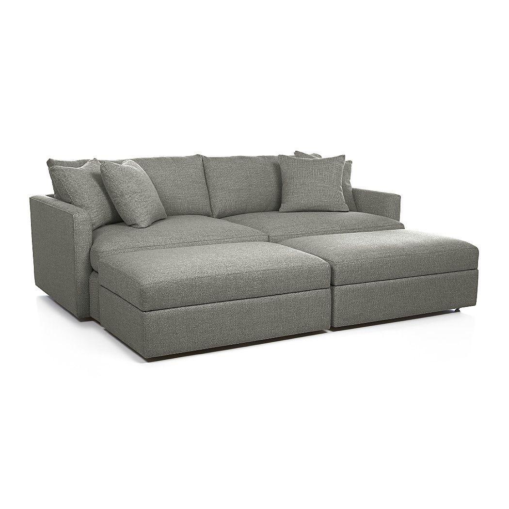 Crate and barrel sofa quality - Lounge Ii 93 Sofa