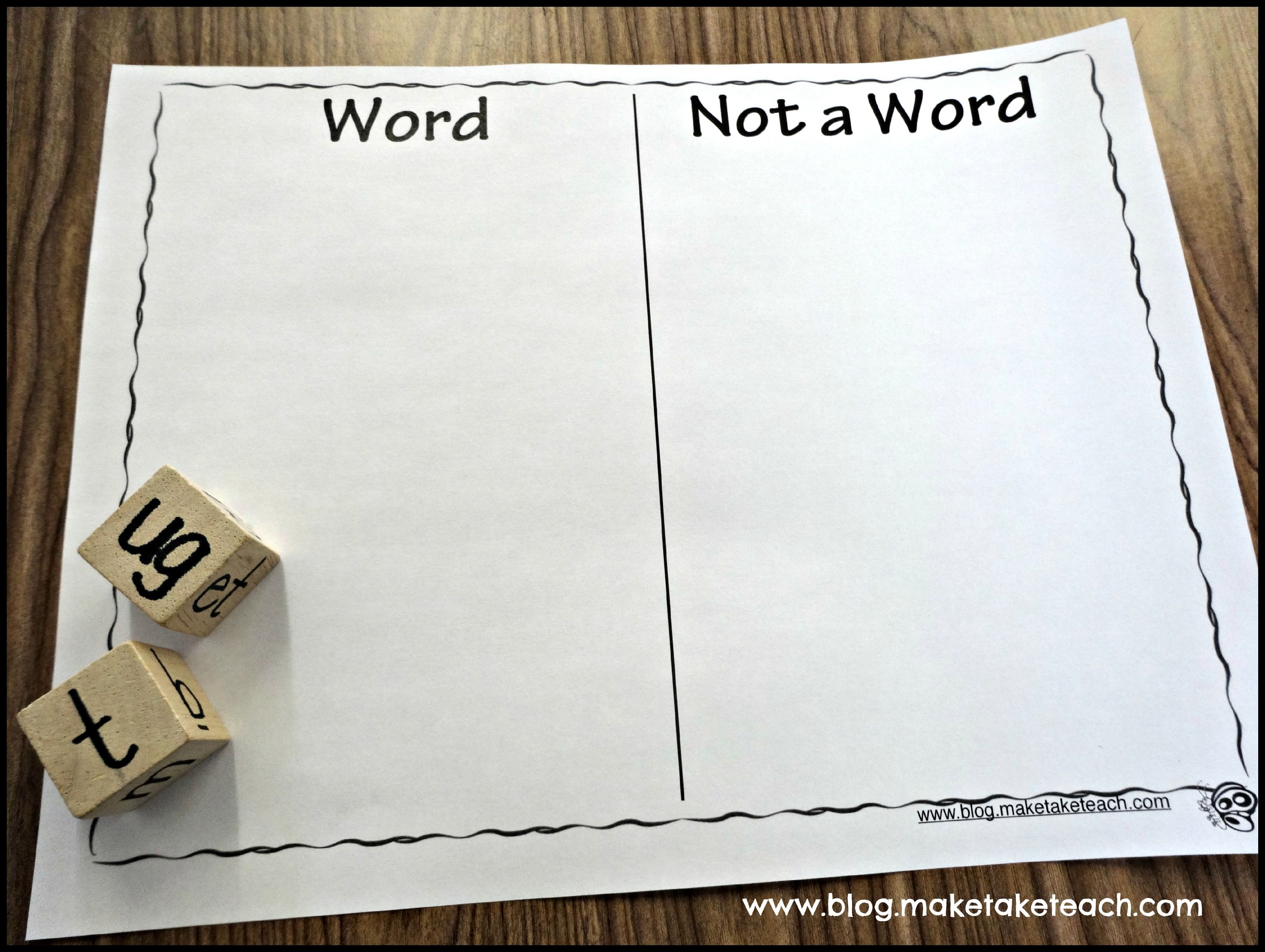 Teaching Students To Blend Words