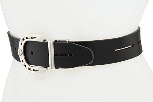 a1e9b35c728b BeltsandStuds Women Fashion Designer Brown Dress Belt with Silver Buckle   5.99