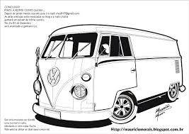 Resultado De Imagem Para Kombis Desenho Desenhos De Carros