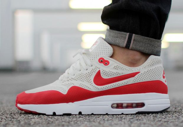 nike air max moire red white and que