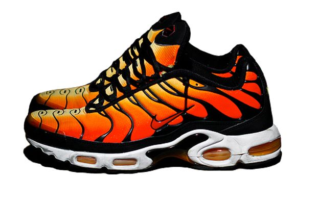 Mens Nike Air Max Plus TN Tuned Ultra Tiger Trainers Flame