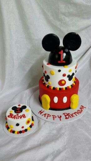 Mickey Mouse First Birthday Cake Akhirs Mickey mouse party