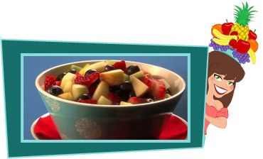 Ginormous Fruit Salad Surprise Per Serving 1 2 Of Recipe About  Calories 1g Fat 95mg Sodium 41 5g Carbs 7g Fiber 29 5g Sugars