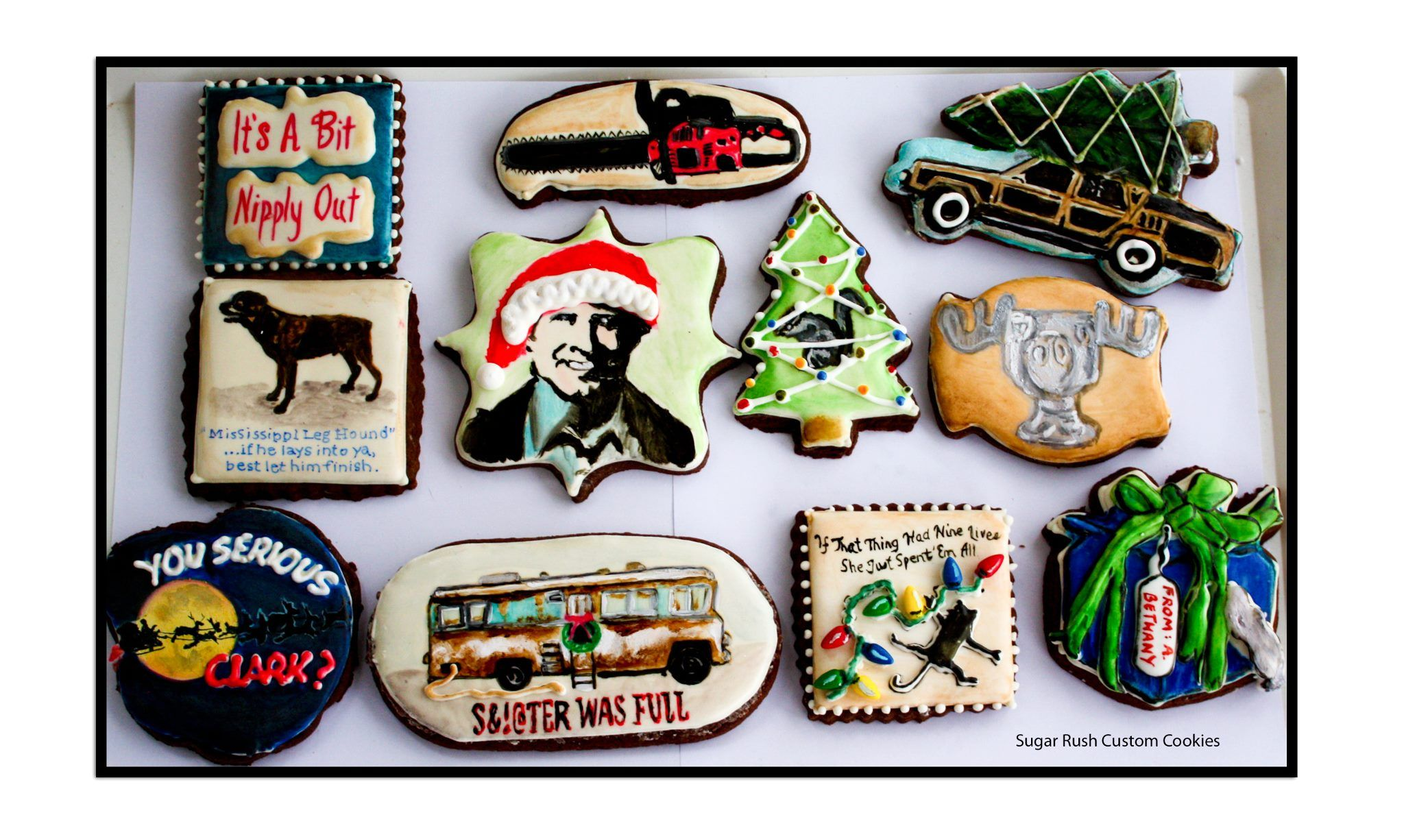 Griswold Christmas Cookies by Sugar Rush (With images