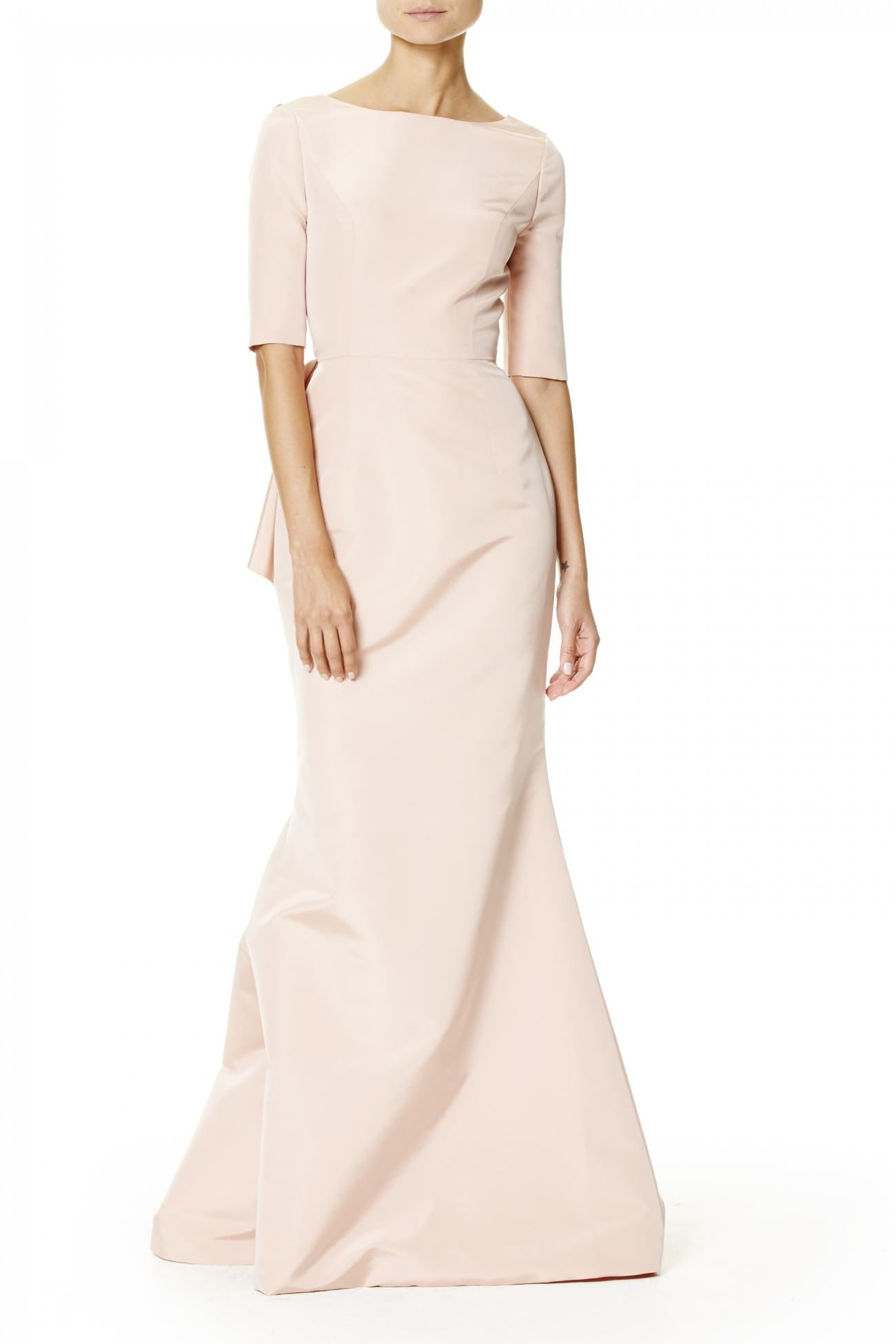 Open Back Gown Carolina Herrera Clearance Nicekicks Extremely For Sale Sale How Much Latest Collections Online Outlet Choice 5Zldhk