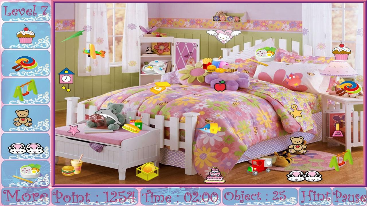 Pink Rooms Hidden Object Game Android Apps on Google Play