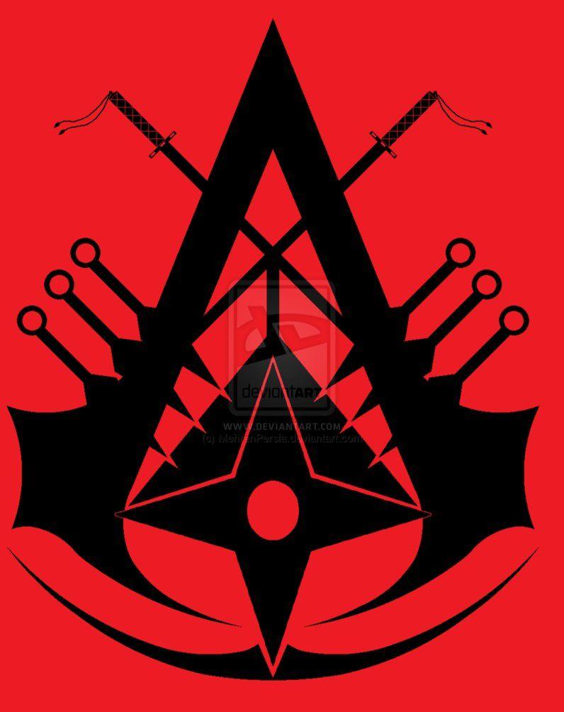 Ninja Assassin Symbol By Mehranpersia On Deviantart Assassin S Creed Wallpaper Assassin Assassins Creed Tattoo