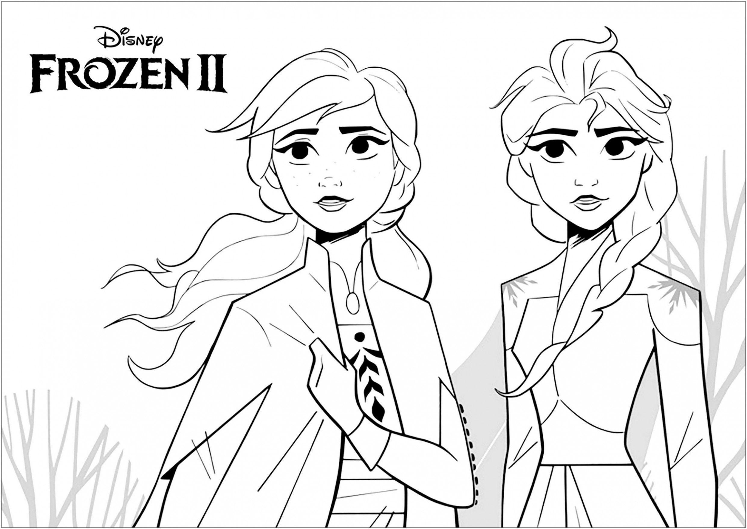 Elsa Valentine Coloring Pages Photos