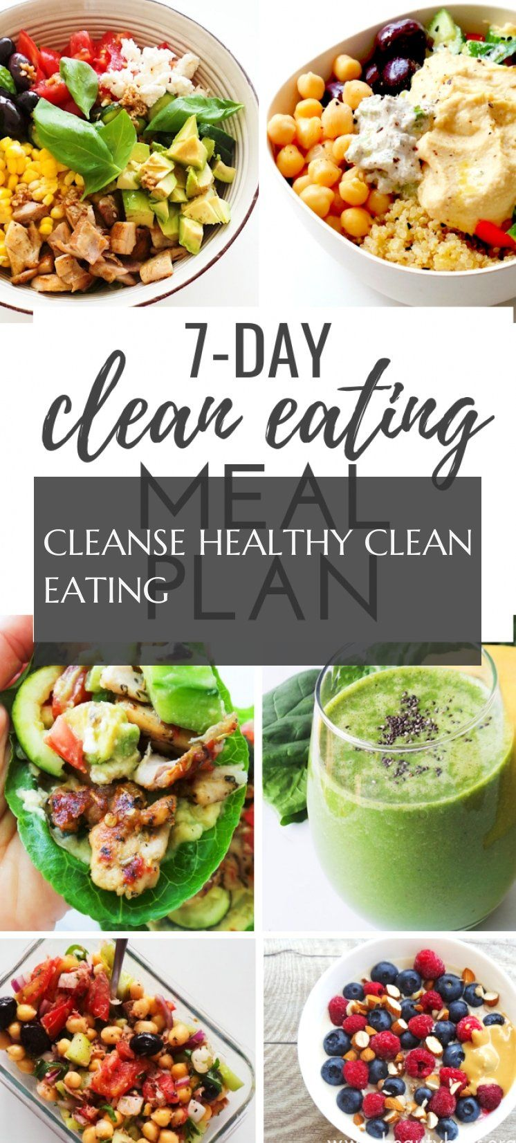 Cleanse Healthy Clean Eating Reinigen Gesund Sauber Essen
