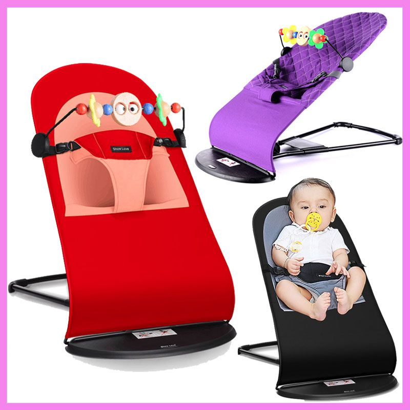 Review High Quality Portable Newborn Infant Folding Novelty Swing Rocking Chair for Baby Lounge Recliner Children Cradle Minimalist - Unique baby activity chair For Your Plan