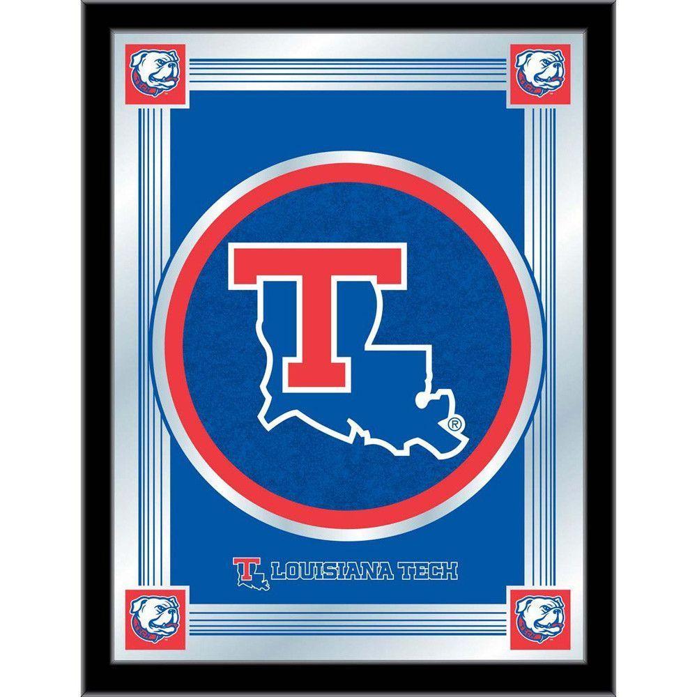 Louisiana Tech Bulldogs Logo Wall Mirror