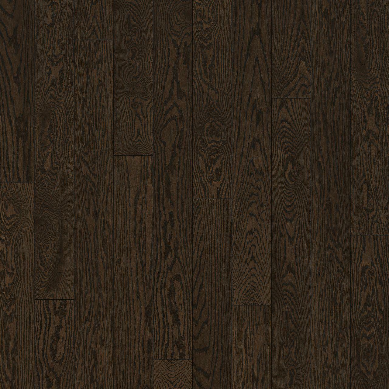 red oak, chocolat, oiled hardwood flooring Preverco