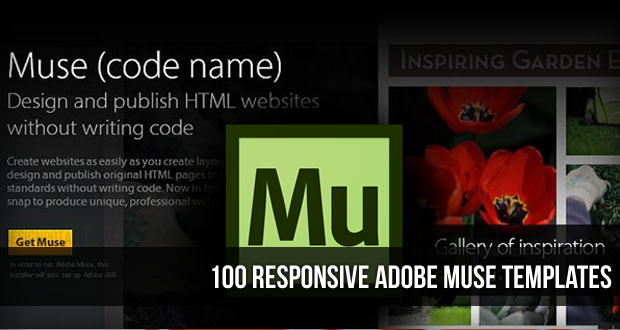 100 Best Responsive Adobe Muse Templates | Adobe Muse