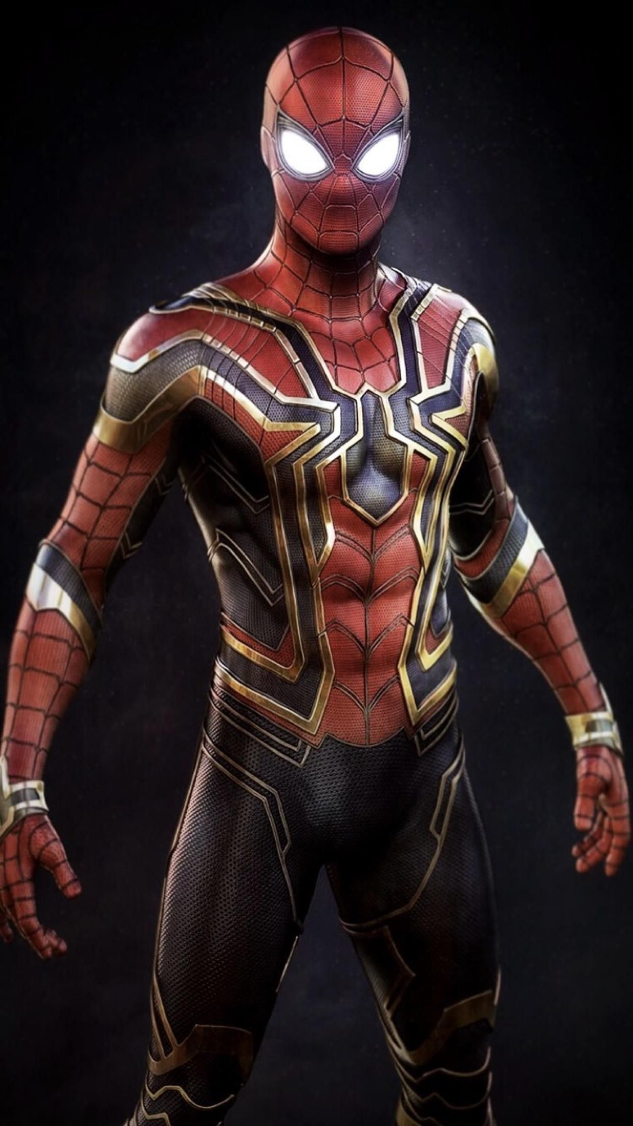 Pin by cheong k w on jl iron spider marvel - Spiderman and ironman wallpaper ...