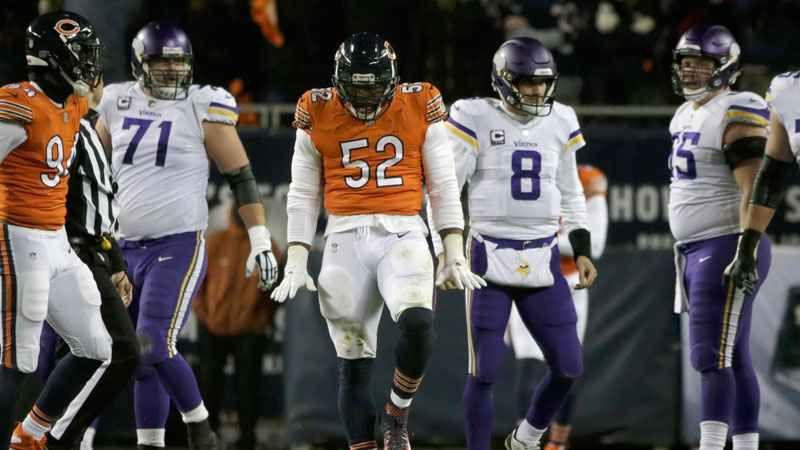 Khalil Mack | Chicago Bears | Nfc north, Sunday night, Bear