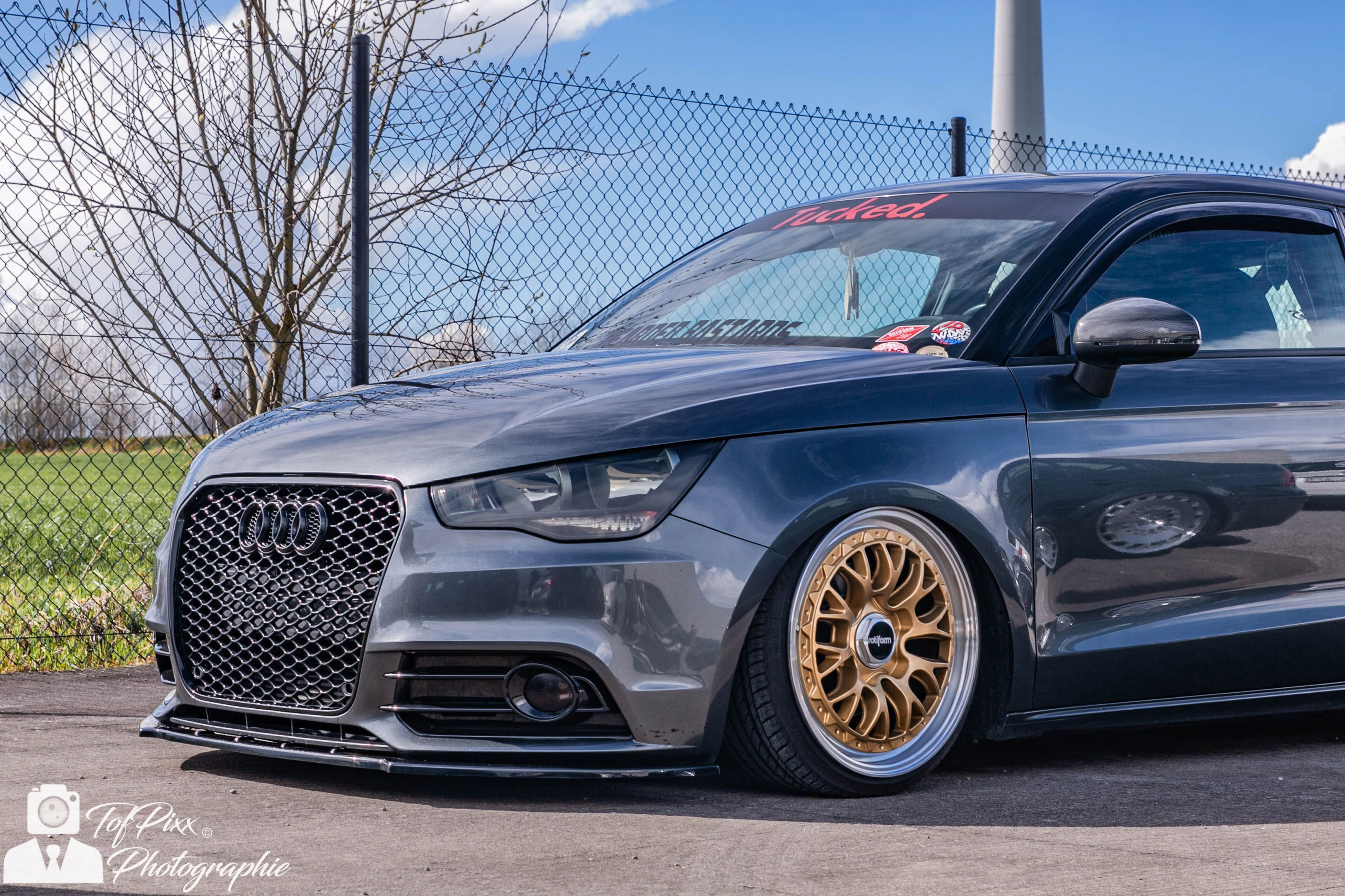 Audi A1 Audia1 Auto Voiture Cars Airlift Airride Low