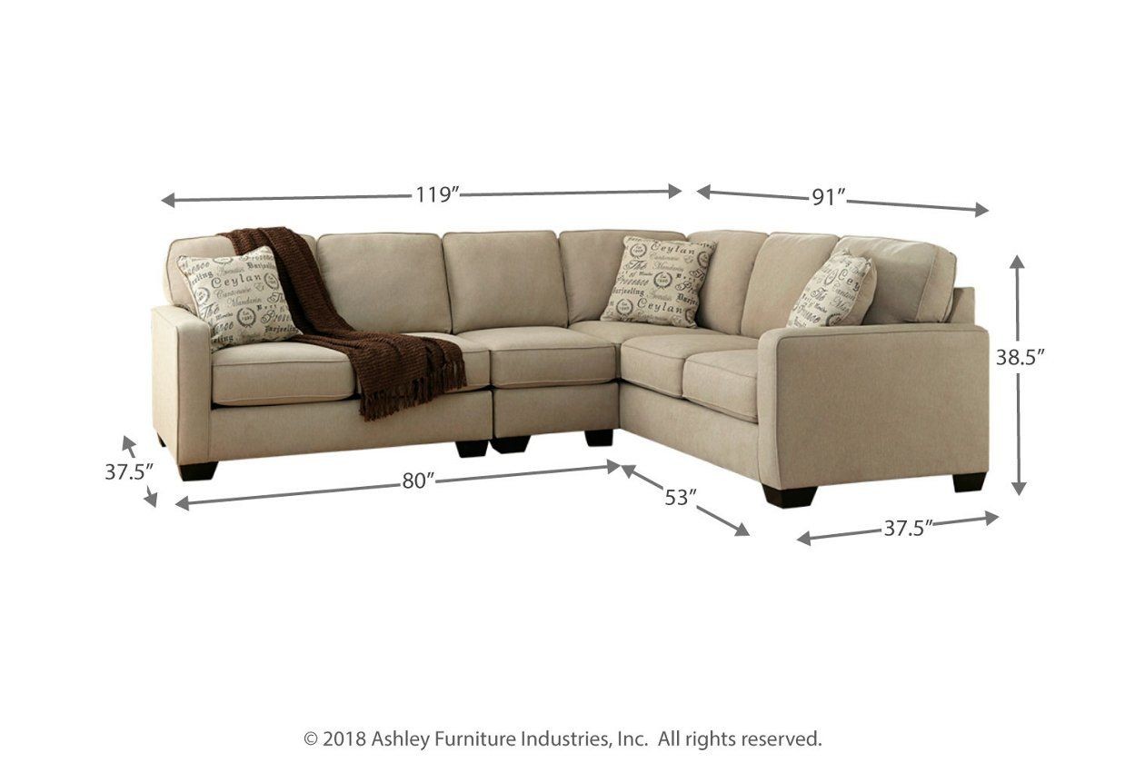 Best Alenya 3 Piece Sectional In 2020 With Images Sectional 400 x 300