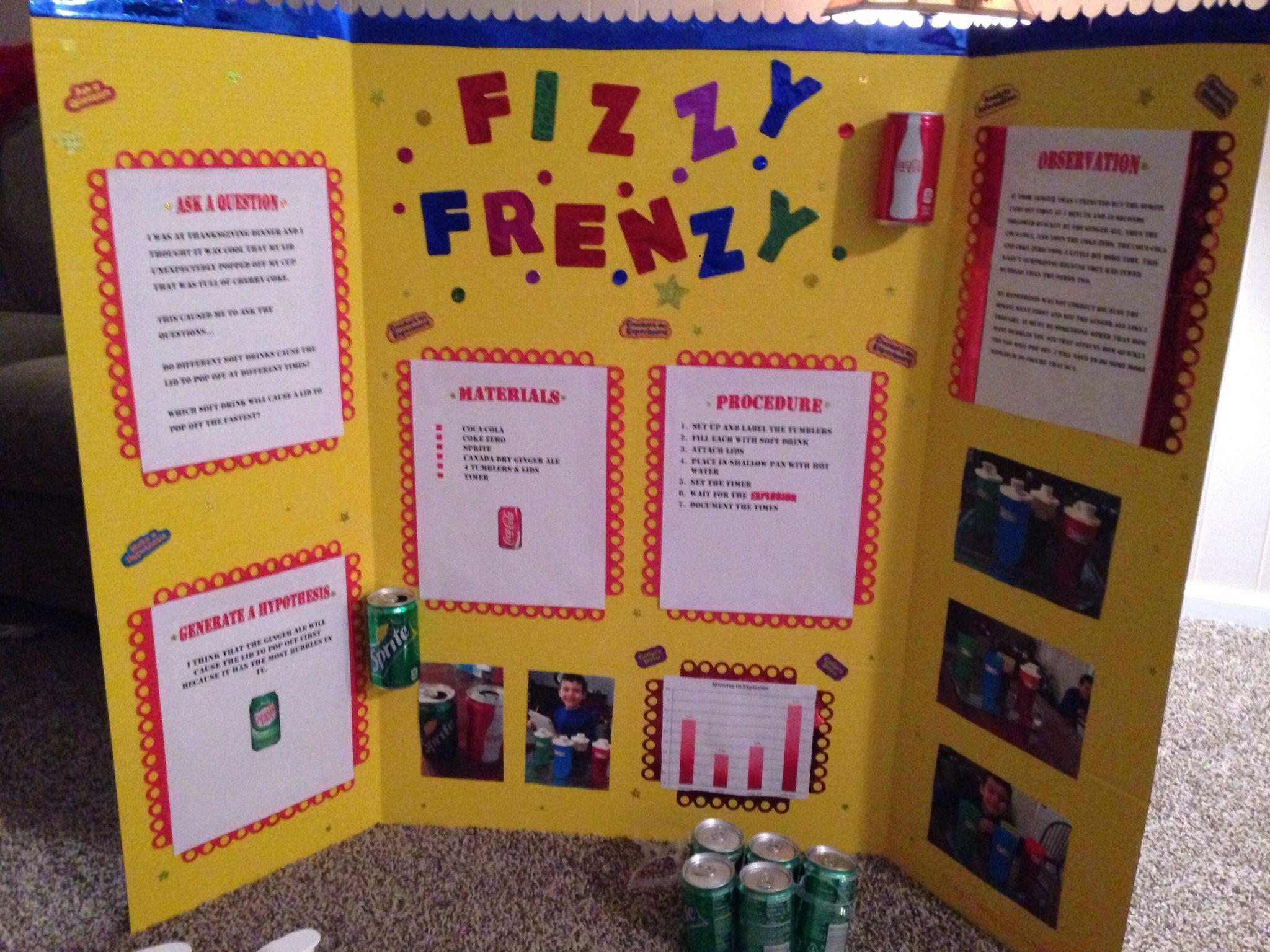 Elementary Science Fair Display Board Elementary Science