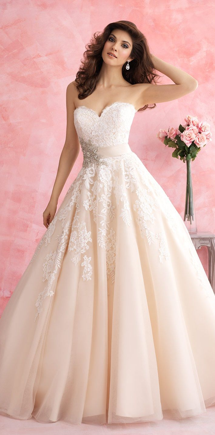 wedding dress, Allure | Wedding Dresses - Wedding Wishes | Pinterest ...