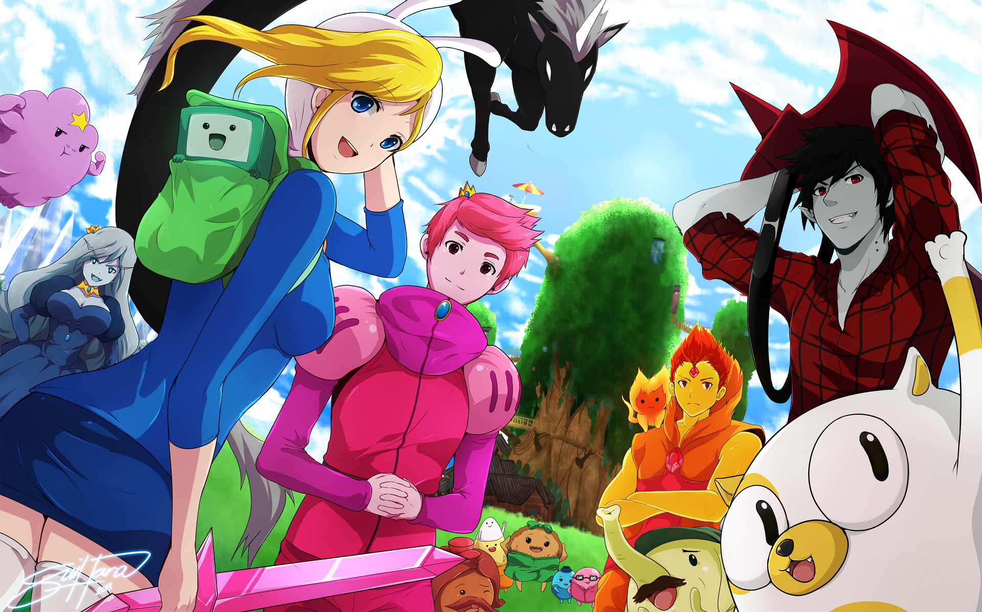 Anime Adventure Time Pictures free adventure time anime wallpapers – wallberry hd