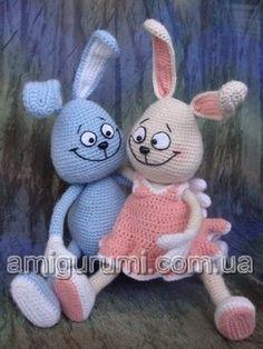 Tığ işi Örgü Oyuncak Tavşan Yapılışı - Amigurumi Free Pattern Rabbit | Tiny Mini Design