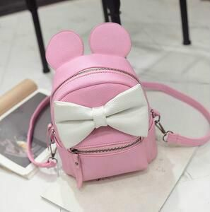 b60074b2bcaa SALE ONLY  25.99 + - Disney Minnie Mickey Mouse Ears Bow Mini Backpack Bag-  Available In 12 Color Combinations-READY TO SHIP OPTION AVAILABLE
