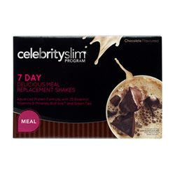Buy Celebrity Slim 7 Day Meal Replacement Shake Chocolate 770.0 g Online | Priceline