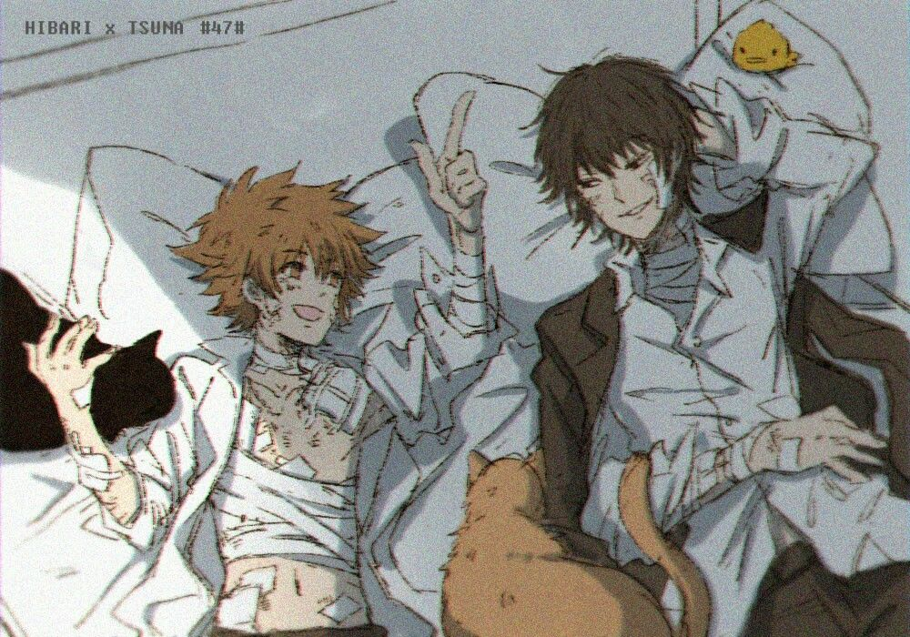 I Always Wanted Hibari S And Tsuna S Dynamic Be Explored More And