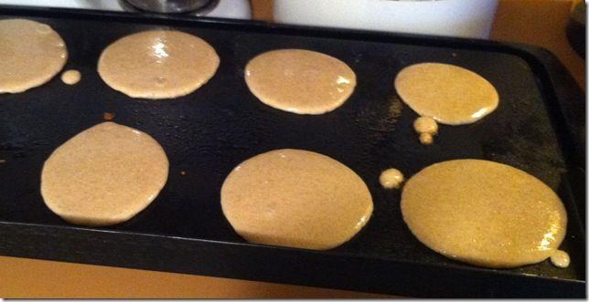 Protein pancakes...31 g of protein!!