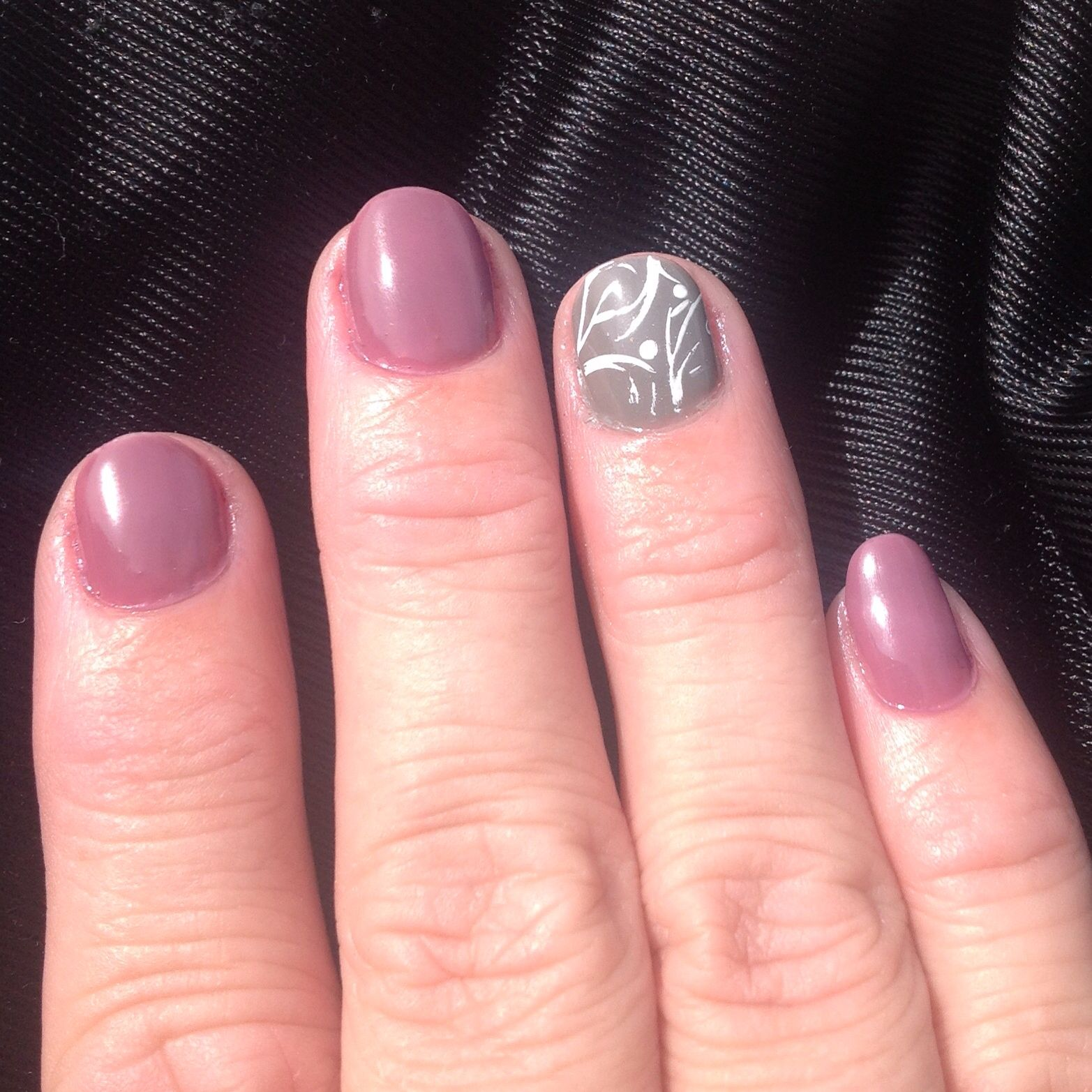 Great colors for fall! GelMoment Ballerina and Stroll in Paris.