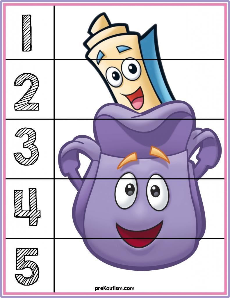 Dora The Explorer Puzzles Preschool Activities Classroom Fun Dora The Explorer [ 1024 x 791 Pixel ]