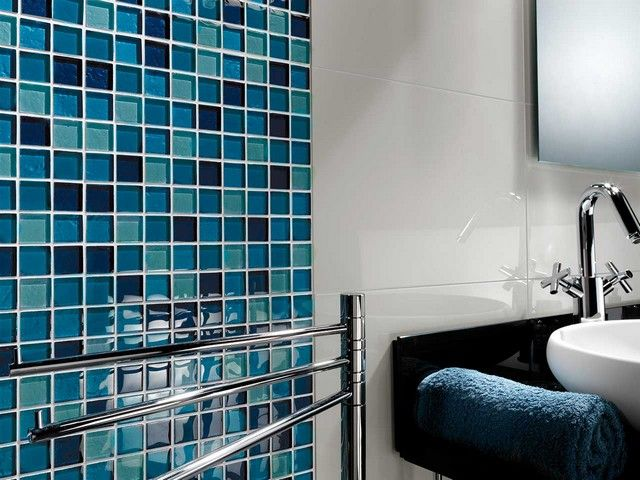 Mos jewels acquamarina turch 30x30 mosaici bagno jewels bathroom e bathtub - Arte bagno taranto ...